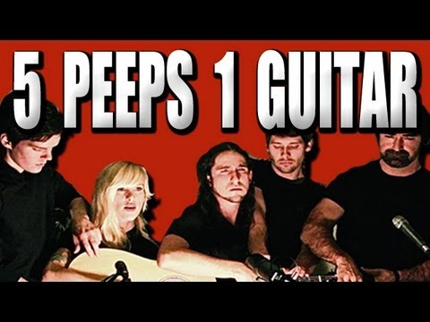 5 People Playing The Same Guitar