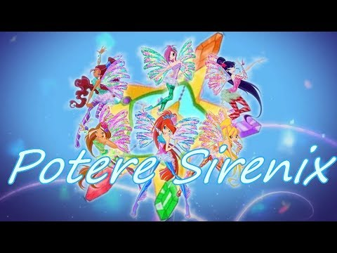 Winx Club~ Sirenix [Italiano] (Lyrics)