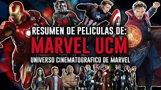 Resumen De Películas Del: Universo Cinematográfico De Marvel