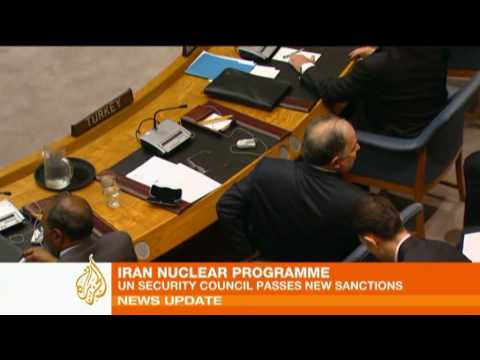UN passes fresh sanctions against Iran