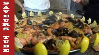 """Video How to make Paella with TV Chef Julien Picamil from """"Saveurs"""" Dartmouth UK. MP3, 3GP, MP4, WEBM, AVI, FLV Agustus 2019"""