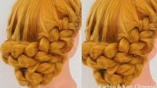 ถักเปียสวยๆ : Cute and Easy Braid [Ep.70] #hair - HowTo: สอนทำทรงผมรับปริญญาแบบง่ายๆ ด้วยตัวเอง #2