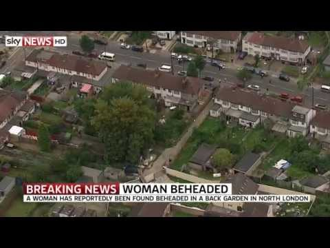 Woman Beheaded In Back Garden Of London Property