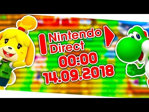Animal Crossing für Switch ANGEKÜNDIGT! | NINTENDO DIRECT - 14.09.2018! | Live Reaktion