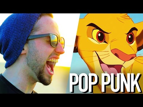 I Just Can't Wait to be King (Disney) - Jonathan Young POP PUNK/ROCK COVER (видео)