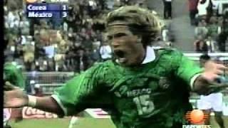 Jorge Campos in der mexikanischen Nationalmannschaft