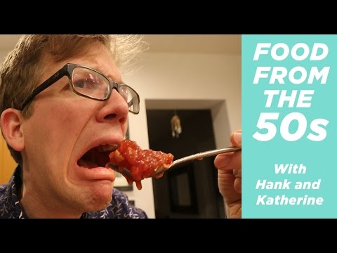 Eating Weird Dishes From The 1950  s