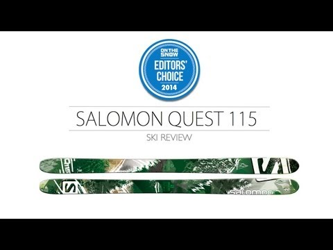 2014 Salomon Quest Ski Review - Men's Powder Editors' Choice