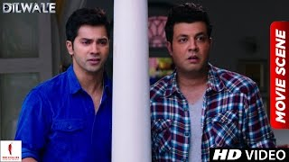 Nonton Ramlal   Pogo Ki Anokhi Prem Kahani   Dilwale Scenes   Varun Dhawan  Shah Rukh Khan  Kajol Film Subtitle Indonesia Streaming Movie Download