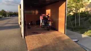 9. Bike delivery day! Triumph Bonneville T100 SE