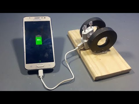 Download How To Make Free Energy Mobile Phone Charger With magnets   Science projects