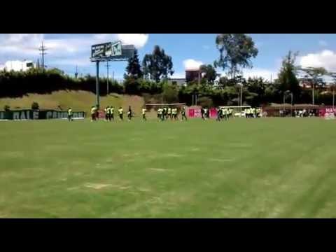 La hinchada de Atlético Nacional en la sede de Guarne - Los del Sur - Atlético Nacional