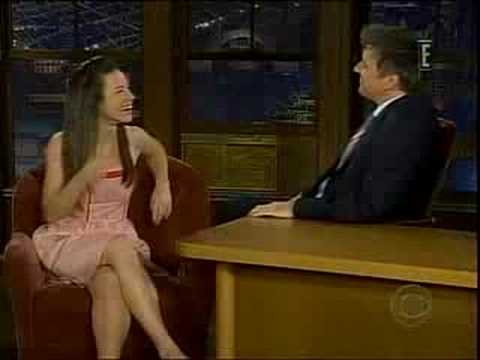 Evangeline Lily - Evangeline Lily on Late Late Show Feb 14 2008.