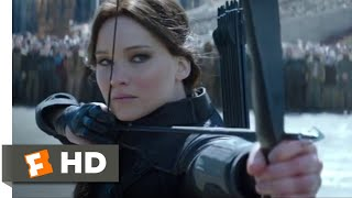 The Hunger Games: Mockingjay, Part 2 (2015) - May Your Aim Be True Scene (9/10)