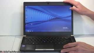 Toshiba Portege R30 Review
