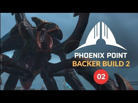 PHOENIX POINT Backer Build 2   Random Map Gameplay 02 (Squad Based Tactics - XCOM Evolved?) (видео)