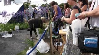 #471 Hampton Court Flower Show 2011 - Messeabbau