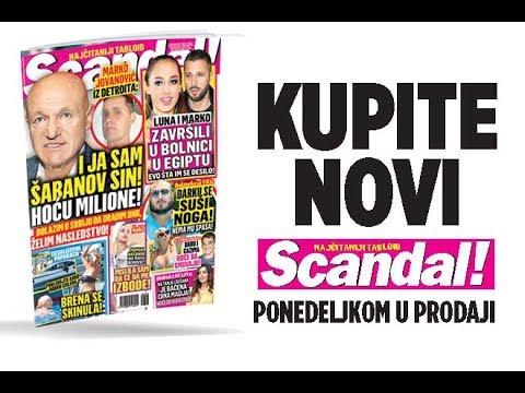 SCANDAL NOVINE: Marko Jovanović: Ja sam Šabanov sin, hoću milione! Luna i Marko završili u bonici u Egiptu! Maja Berović napadnuta: Mislila sam da će da me izbode!