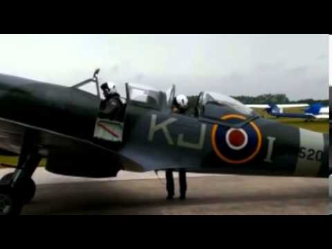 Video RAF veteran, 91, flies a Spitfire for first time since the war download in MP3, 3GP, MP4, WEBM, AVI, FLV January 2017