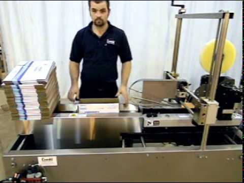 EZ Pack Case Forming and Case Sealing System