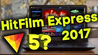 New HitFilm Express 2017 New Best Free Video Editing Software Is Here | What's New !!!