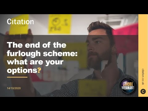 Citation - The end of the furlough scheme: what are your options?