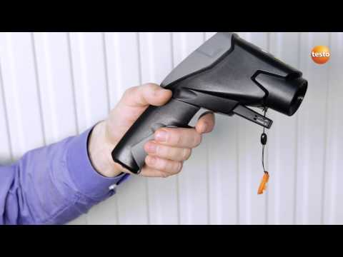 Professional Infrared Thermometer testo 835 - Step 4 - How t