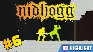 On this Twitch highlight we revisit an old Stumpt classic - Nidhogg!► Follow us:  ●Reddit: http://www.reddit.com/r/Stumpt/  ●Twitter: http://twitter.com/stumptgames  ●Facebook: http://www.facebook.com/StumptGamers  ●Podcast & Blog: http://www.StumptGamers.comFind out more about this game here: http://www.nidhogggame.com/