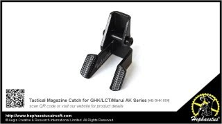 How to install Hephaestus Tactical Magazine Catch for GHK AK Series