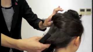 [U Beauty髮型教室] 日籍 Stylist ITO 示範簡 Set 長髮