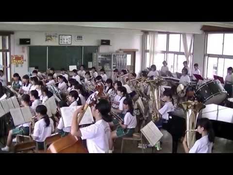 大分市立大東中学校「吹奏楽部直前練習」②