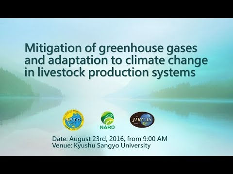Highlights of Mitigation of greenhouse gases and adaptation to climate change in livestock production systems