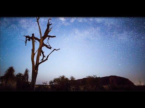Stunning NEW time-lapse footage of Uluru