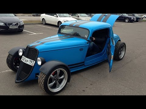 "1933 Ford Roadster ""angry Smurf"" Hot Rod Build Project"