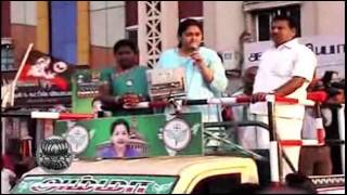 Actress Vindhiya in Election Campaign for ADMK -  Clips in Dinamalar Video