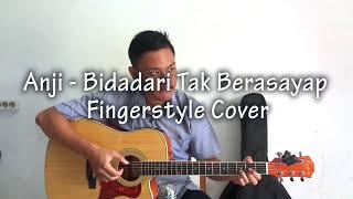 Video Anji - Bidadari Tak Bersayap Fingerstyle Cover || Guitar Cover MP3, 3GP, MP4, WEBM, AVI, FLV Februari 2018