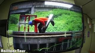 Merekam Video Keunikan Jembatan Kereta Api di Jawa pada layar KA TV