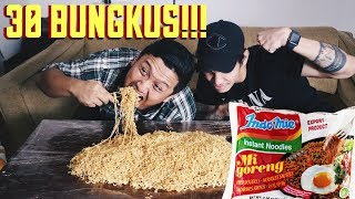 Video MUKBANG 30 BUNGKUS INDOMIE. PESTA MECIN MP3, 3GP, MP4, WEBM, AVI, FLV Maret 2019