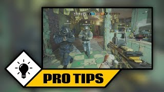 "This video explores a few Rainbow Six Siege TOP 3 Pro TIPS & TRICKS for online multiplayer. Throughout the video, I discuss each tip in great detail, revealing how to best go about utilizing them and then showcase a number of gameplay clips to act as visual examples. The following TIPS and TRICKS are mentioned:TIP ONE (JUGGLING) - While playing as Bandit or Mute, repeatedly pick up/put down your equipment in the effort to avoid having it destroyed by a Twitch drone or Thatcher's grenades.TIP TWO (WINDOW PREP) - Very early in a round, melee below the bottom lip of a window two times. This gives off a false perception of the window being completely intact from the opposing side. If timed correctly, hitting the window one more time will cause it to fall, allow you to hop out in a very quick manner and catch your opponent with the element of surprise.TIP THREE (BOMB BAITING) - Once you have arrived at an objective with the bomb defuser, bait defensive players out of their positions by faking the bomb plant. This can be done by initiating the defuser plant and listening to either of the first two sound ques before canceling it. The first sound is a ""clicking"" noise that occurs when opening up the defuser box. The second is the ""beeping"" sound from typing on it.*SPONSORED BY EVIL ENERGY*Turn Any Drink Into An Energy DrinkUse Promo Code: ""THUGLYFE"" on AmazonIf you enjoyed this Rainbow Six Siege TOP 3 Pro TIPS & TRICKS (Multiplayer Tutorial), then feel free to: Comment / Share / Thumbs Up / Subscribe*OPERATION SUPPLY DROP*https://fundraise.operationsupplydrop.org/thuglyfegaming*SOCIAL NETWORKS*Instagram - http://www.instagram.com/thuglyfegamingFacebook - http://www.facebook.com/thuglyfegamingTwitter - http://www.twitter.com/thuglyfegamingTwitch - http://www.twitch.tv/thuglyfegaming/profileI here VERIFY that I have PURCHASED and OWN receipt proof for the USAGE RIGHTS to all MUSIC and SOUND content used within this video. The following files were used:www.20DollarBeats.com - ""Mageon"" - Payments made out to RJ Interactive - Contributing Artist: Kustom Beats"