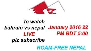 Nepal vs maldives(4-1) Highlights 2016
