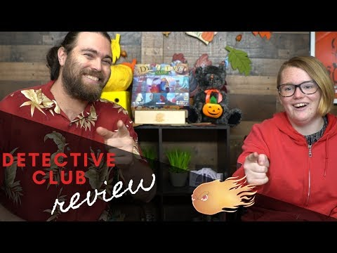 Detective Club - Board Game Review