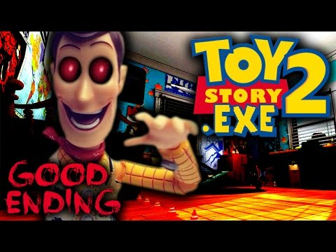 TOYSTORY2.EXE - GOOD ENDING! - WOODY.EXE FINALLY DEFEATED?! (TOY STORY.EXE SEQUEL)