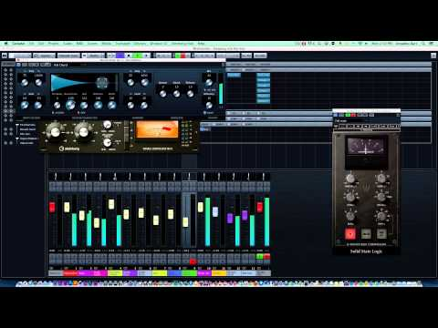Making & mastering hiphop beat in cubase 7