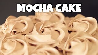 How to Make the Best Mocha Cake Ever | Tastemade Staff Picks by Tastemade