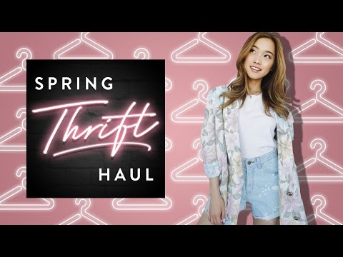 Spring Thrift Haul | clothesencounters