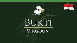 Video Virgoun - Bukti (Indonesian Song) - LOWER Key (Piano Karaoke / Sing Along) MP3, 3GP, MP4, WEBM, AVI, FLV Januari 2018