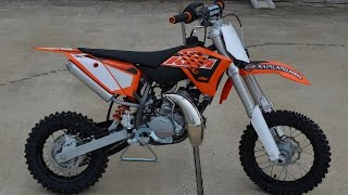 10. $3,899: 2015 KTM 50 SX Overview and Review
