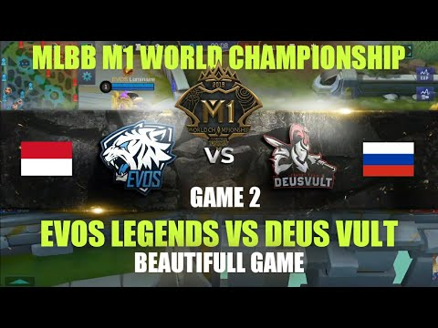 EVOS Legends (Indonesia) vs DEUS VULT (Rusia) • Game 2   Grup D M1