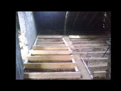 comment construire plancher bois