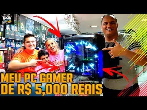 MEU PC GAMER MONSTRO DE R$5,000 💰 - VITRINE INFORMATICA SANTA IFIGÊNIA